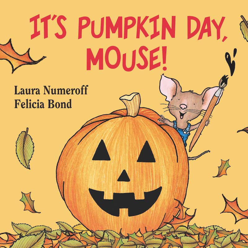 It's Pumpkin Day, Mouse! Book Cover